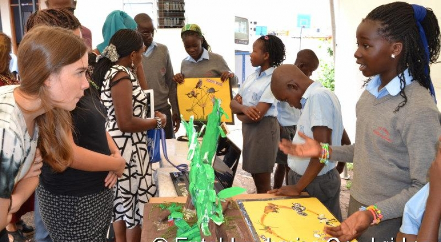 Entebbe Junior Cambridge Science Fair001
